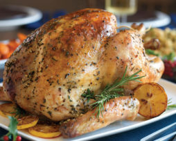 fresh thanksgiving turkey from Loudounberry